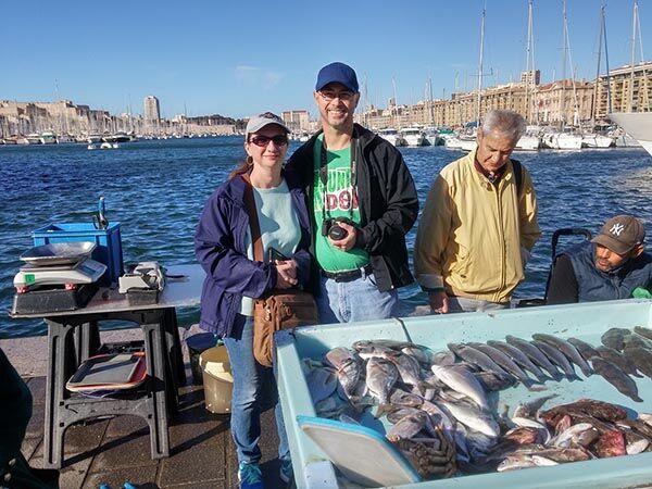 Marché aux poissons - Marseille