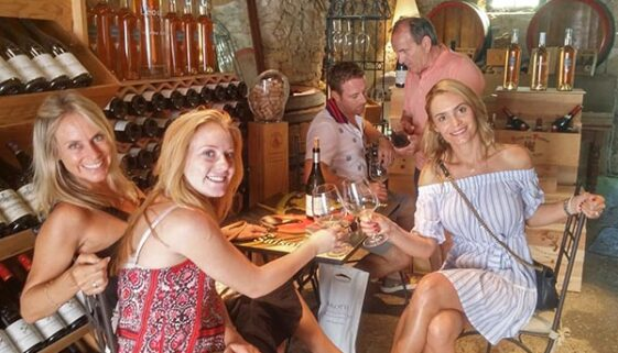 Aix en Provence - dégustation de vin
