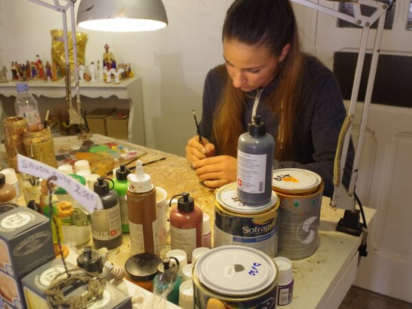 Artisans santonniers de Marseille