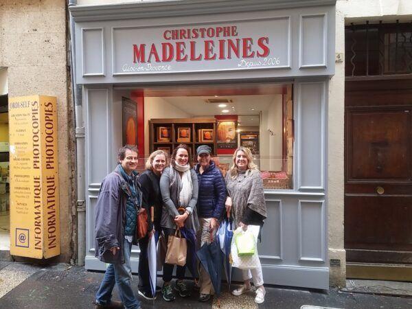 Biscuits Madeleines sur Aix
