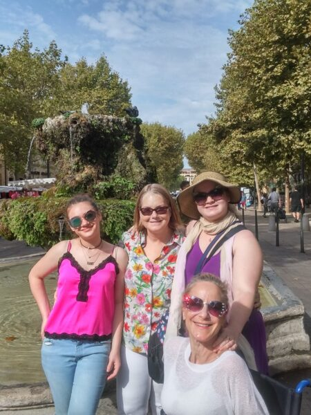 Cours Mirabeau sur Aix