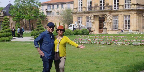 Parc Vendôme sur Aix