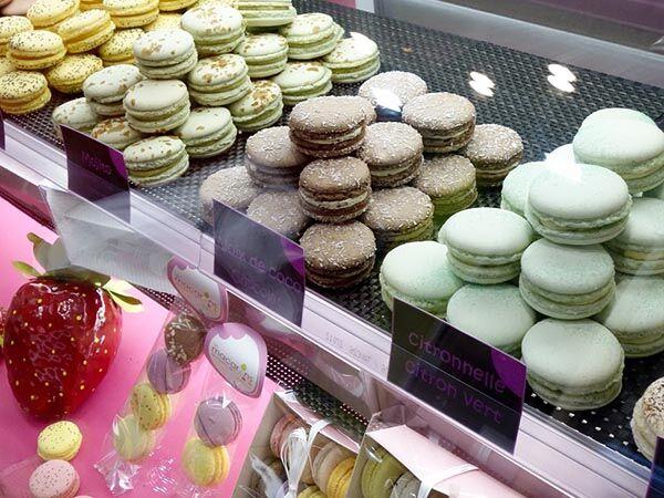 Macarons d'Aix - tour gourmand