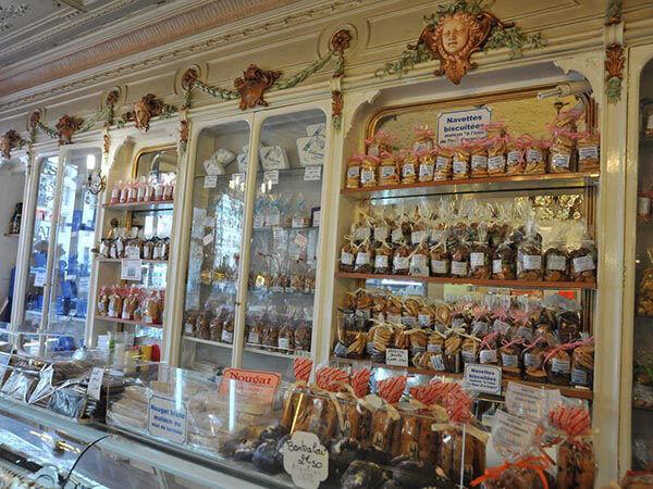 Traditionelle Konditorei in Marseille