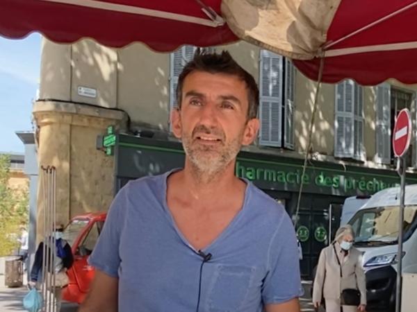 Venez retrouver Laurent, ce producteur local de verrines bios, toute l'année sur le marché d'Aix-en-Provence.